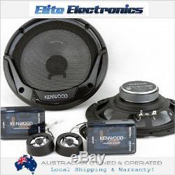 Kenwood Kfc-e715p 6.75 300w Component Split System Car Audio Speakers Stereo