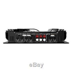 Kit Audio 4.1 Auto Altoparlanti 3 Vie Amplificatore Subwoofer Sistema Car Stereo