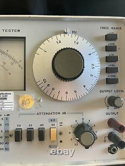 LEADER LAV 190 AUDIO TESTER Stereo Speaker Electronic Manufacturing LAV-190 JD