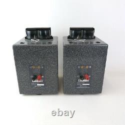 Linaeum LFX Corian ribbon stereo speakers ideal audio