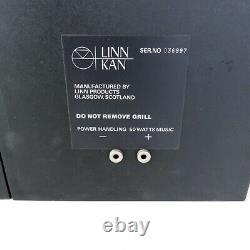 Linn Kan mk1 stereo speakers boxed with packaging ideal audio
