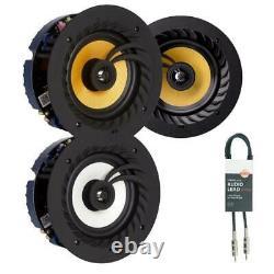 Lithe Audio Dual Zone Stereo Bedroom & En-Suite Bluetooth Ceiling Speakers