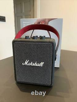 Marshall Stockwell II Bluetooth Portable Speaker 20W Stereo Sound Black