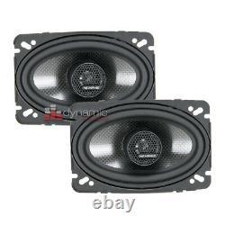 Memphis Audio 15-MCX46 Car Stereo MClass Series 4x6 2-way Coaxial Speakers New