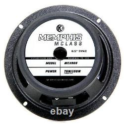 Memphis Audio 15-MCX60S Car Stereo 6-1/2 Sync Component Speaker System New