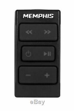 Memphis Audio Hidden Hide Away Bluetooth Receiver+6.5 Tower Speakers RZR/UTV