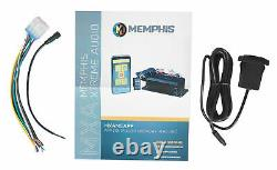 Memphis Audio MXAMCAPP Hidden Marine Bluetooth Receiver+(2) Hifonics 8 Speakers