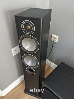 Monitor Audio Bronze 5 Floor Standing Speakers in Black Oak