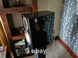 Monitor Audio Gold GX50 Hi Fi Speakers. High Gloss Black