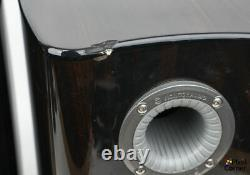 Monitor Audio PL-100 Platinum stand mount Hi-Fi Stereo Speakers Ebony finish