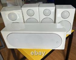 Monitor Audio Radius HD 5.0 surround sound set 4x R90HD, 1x R180HD-Piano White
