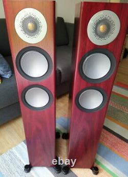 Monitor Audio Silver 200 stereo speakers Rosenut