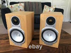 Monitor Audio Silver RS1 Oak, Beautiful Classic British Speakers. Cost £600
