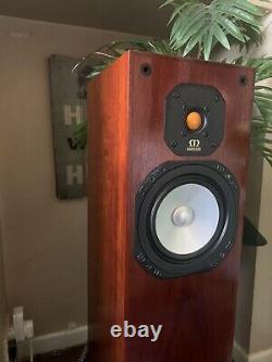 Monitor Audio Studio 20SE Hifi Stereo Speakers, Rosewood finish & boxes