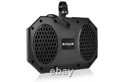 NOAM NUTV5-S Bluetooth Waterproof UTV RZR Polaris Speakers Stereo Audio system