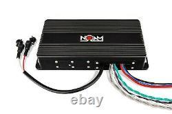 NUTV5 QUAD Bluetooth Waterproof UTV RZR Polaris Speakers Stereo Audio system