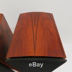 Naim Allae stereo speakers in Maple complete with boxes & packaging -ideal audio