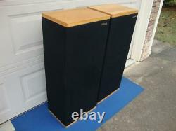 Nice POLK Audio SDA 2 (Stereo Dimensional Array) Tower Speakers -Reconditioned