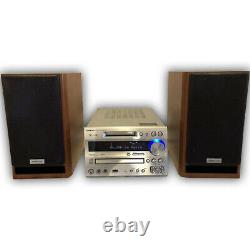 Onkyo FR-N7TX stereo HI-MD CD MD Player amplifier speaker system audio japan