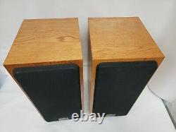 PAIR of Infinity Crescendo CS-3006 3-Way Speakers Sound Great! Need Re-Foaming