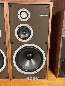 Pair Of Celestion Ditton 442 3 Way Speakers Hifi Audio Stereo Rare YORK