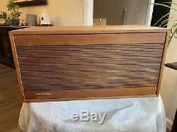 Pair Of Vintage Tandberg HI-FI Stereo Speakers Teak Norway 112-7 Sound Great