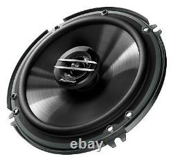 Pioneer 6.5 Car Audio Stereo Front & Rear Speakers WithMounting Bracket & Harness