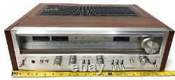 Pioneer SX-780 Vintage Stereo Receiver, Power On / No Sound On Speakers