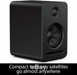 Platin Monaco 5.1 Plus Axiim Wireless Home Audio Stereo Speaker System