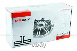 Polk Audio Db651 6.5 180w 2-way Car Marine Boat Stereo Speakers 6-1/2 6.75