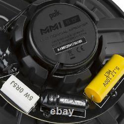 Polk Audio MM652 6.5 2-Way Car Audio Stereo Marine Boat ATV Motorcycle Speakers