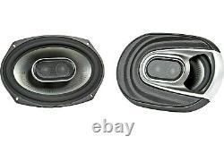 Polk Audio MM692 6x9 2-Way Pair Car Stereo Marine Boat ATV Motorcycle Speakers