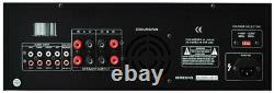 Pyle PT1100 1000W Digital 2 Channel Stereo Home Audio Speaker Amplifier Amp