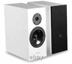 Pylon Audio DIAMOND MONITOR BOOKSHELF SPEAKERS in Brilliant White
