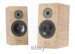 Pylon Audio DIAMOND MONITOR Hi-Fi Bookshelf loudspeakers, Waxed Oil NATURAL