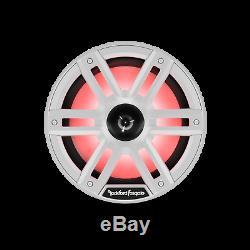 Rockford Fosgate M2-8h White 8 Lights Marine Horn Tweeters Boat Speakers New