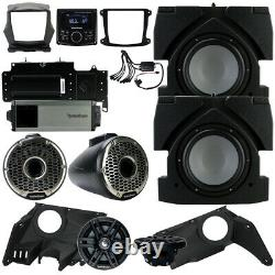 Rockford Fosgate X317-STG6 Stereo Audio Speaker System for Can-Am Maverick X3