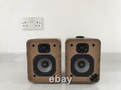 Ruark Audio MR1 MK2 Active Bluetooth Stereo Speakers In Walnut