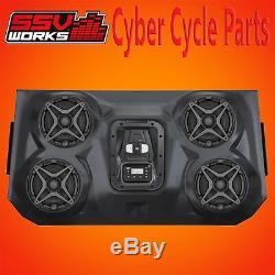 SSV Works 4 Speaker Overhead Stereo Sound Bar XP POLARIS RZR 2014-2017 XP1000