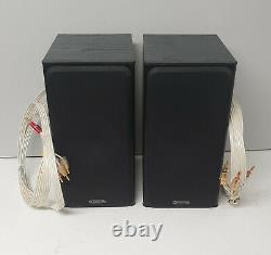 Set Of 2 Monitor Audio Bronze Bx 2 100w Rms Stereo Speakers