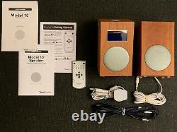 TIVOLI AUDIO Model 10 Stereo AM / FM Clock Radio Speakers with Remote Boxed
