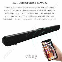 TV Sound Bar Home Theater Subwoofer Stereo Soundbar Bluetooth Wireless Speaker