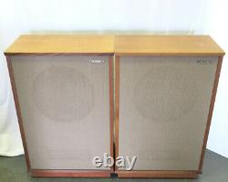 Tannoy 15 monitor gold LSU/HF/15/8 stereo speakers ideal audio