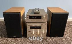 Teac H300 Series Audio Hifi Separate System Stereo Tuner CD Player Amp Speakers