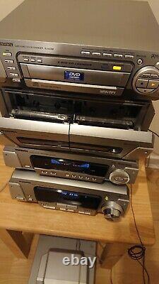 Technics SC-DV290 DVD Hi Fi Separates System + Speakers + Extra Sound Processor