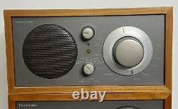 Tivoli Audio Model Two AM/FM Stereo Table Radio & Extension Speaker Henry Kloss
