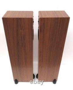 Totem Sttaf stereo speakers with claw feet ideal audio