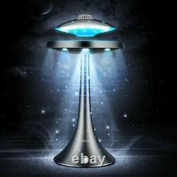 UFO Magnetic Levitating Desktop Lamp with Bluetooth Stereo Wireless Speaker