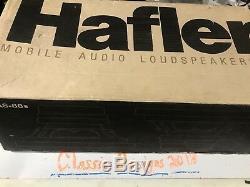 Ultra Rare Hafler 8 Subwoofers Old School Car Stereo Vintage Audio Speakers MAS