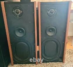Very Rare Cambridge Audio R40 Stereo HiFi Transmission Line Speakers B110